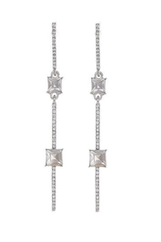 US Jewelry House Stone Bar Earrings - Product Mini Image