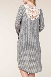 Vocal Apparel Stone Detail Cardigan - Front full body
