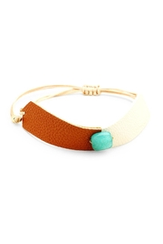 Wild Lilies Jewelry  Stone Leather Bracelet - Product Mini Image