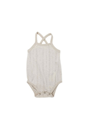 L'oved baby Stone Pointelle Crossback Bodysuit - Product Mini Image