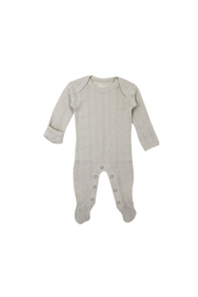 L'oved baby Stone Pointelle Footie - Product Mini Image