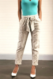 Final Touch Stone Striped Pants - Product Mini Image