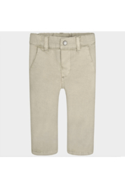 Mayoral Stone Trousers - Front cropped