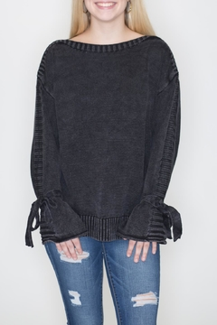 She + Sky Stone Wash Sweater - Product List Image