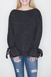 She + Sky Stone Wash Sweater - Product Mini Image