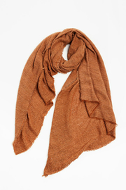 Look by M Stone washed crinkle scarf - Product Mini Image