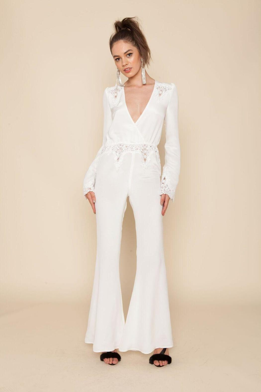 9f105ffbd593 Clothing · Jumpsuits   Rompers · Jumpsuits  Bella Silk Jumpsuit. Stone Cold  Fox ...