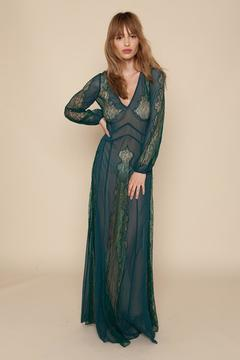 Shoptiques Product: Emerald Lace Dress