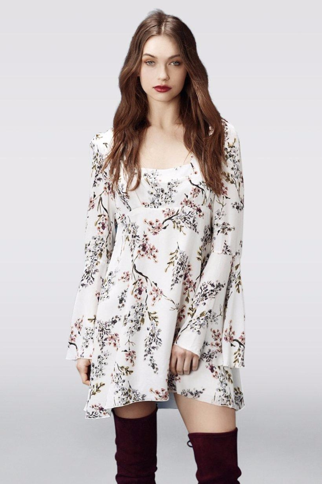 Stone Cold Fox Fisher Floral Dress - Main Image