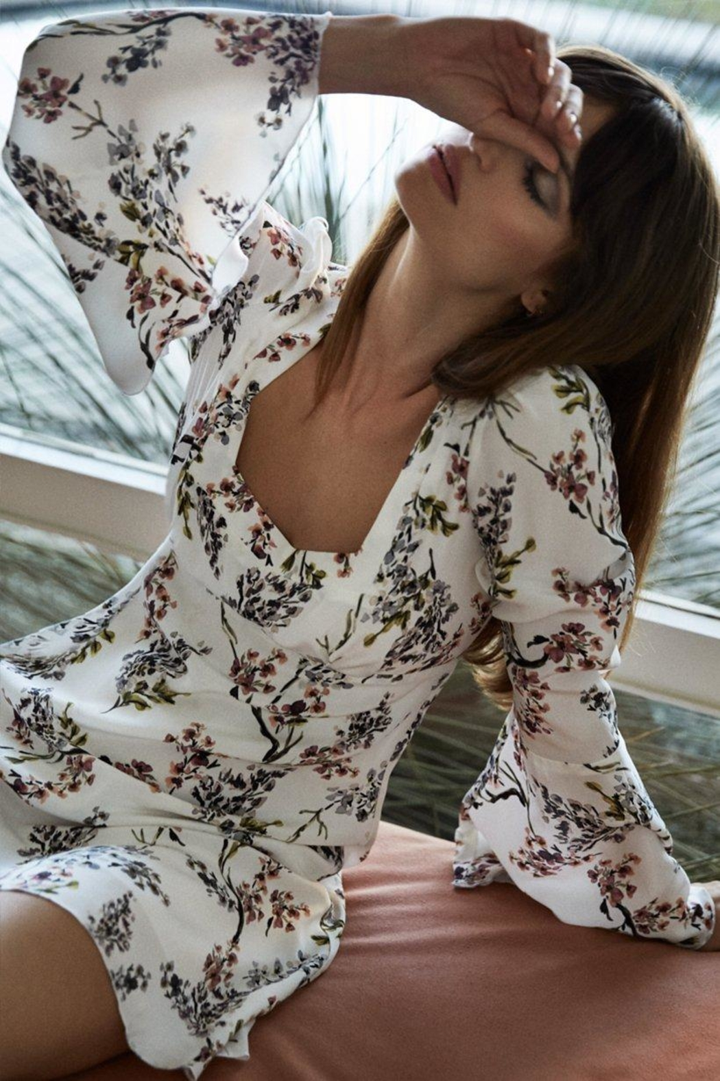 Stone Cold Fox Fisher Floral Dress - Front Full Image