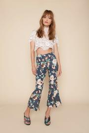 Stone Cold Fox Floral Bell Pant - Product Mini Image