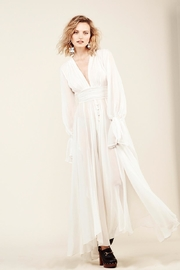 Stone Cold Fox Geneva Gown-Ivory - Front full body