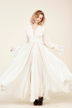 Stone Cold Fox Geneva Gown-Ivory - Product List Image