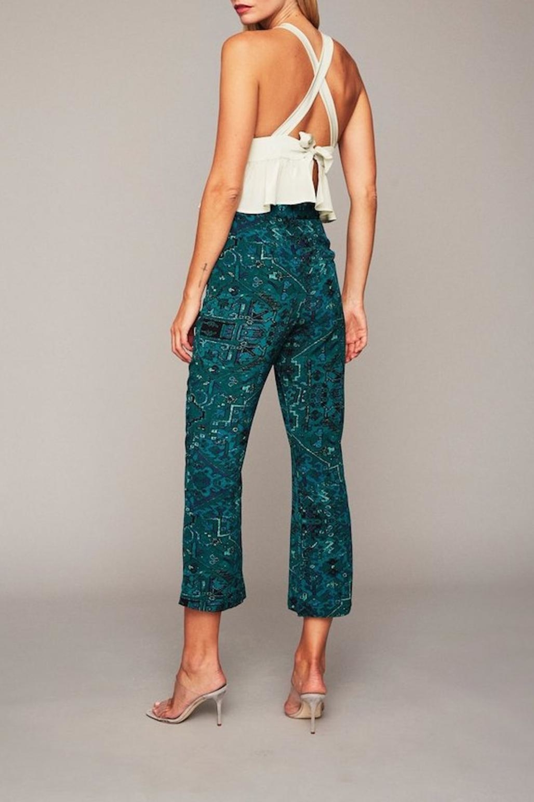 Stone Cold Fox Isla Trousers - Side Cropped Image