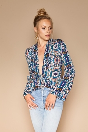 Stone Cold Fox Medici Silk Blouse - Product Mini Image