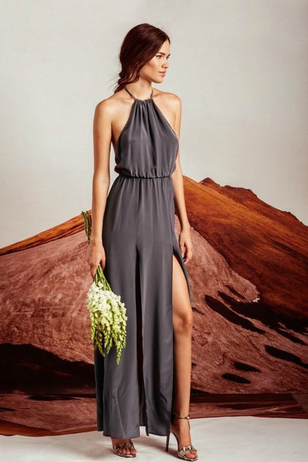 Stone Cold Fox Onyx Gown Dress from California by Brigitte & Stone ...