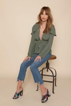 Shoptiques Product: Schiffer Blouse Sea Green