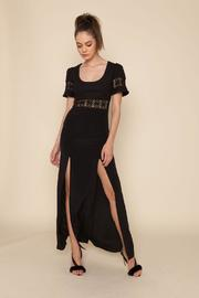 Stone Cold Fox Seymour Gown Black - Front cropped