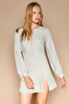 Stone Cold Fox Sicily Silk Dress - Product List Image