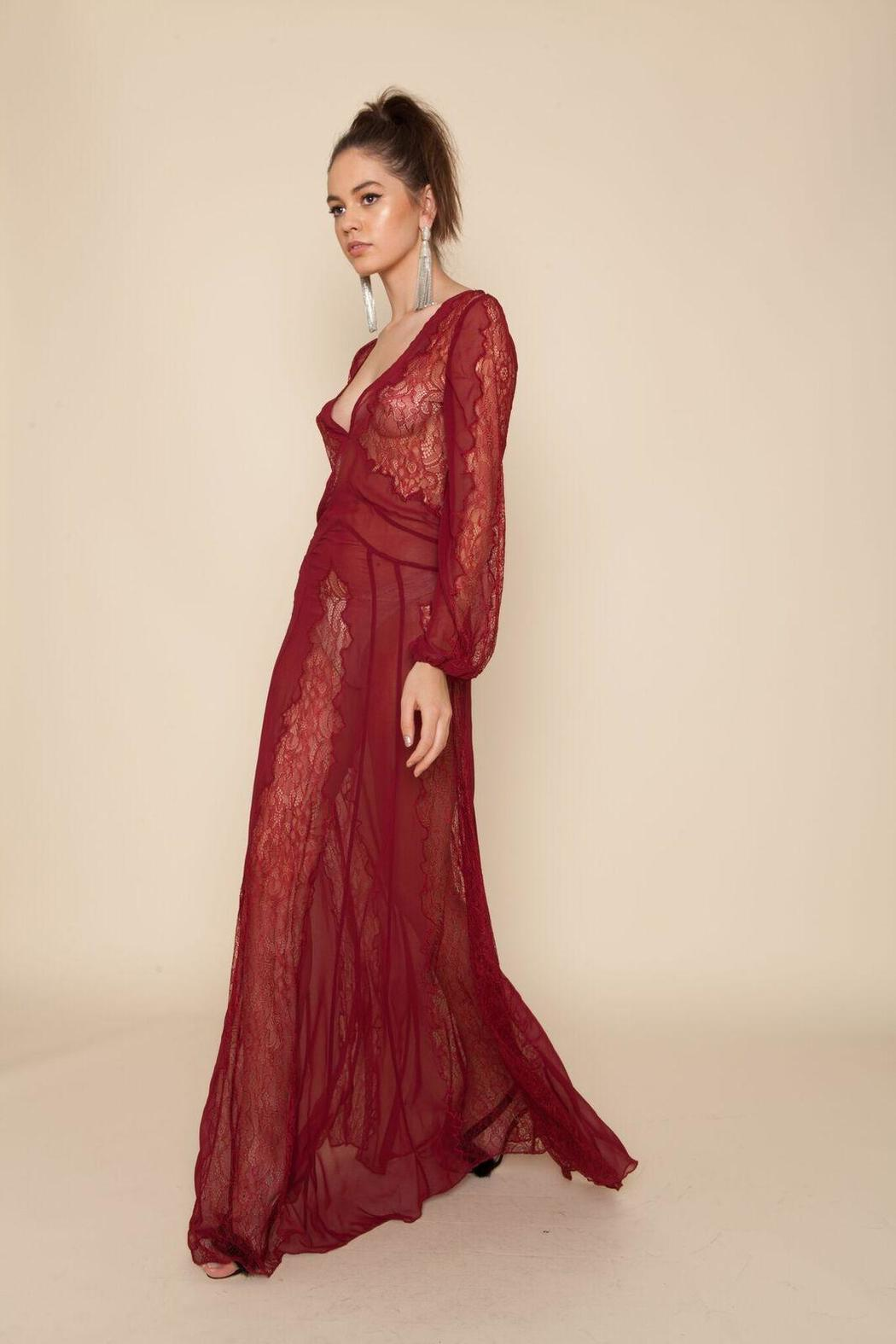 Stone Cold Fox Vermont Lace Gown from California by Brigitte & Stone ...