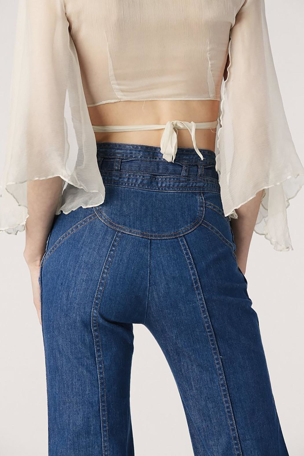 Stoned Immaculate Sunbells Pants - Back Cropped Image