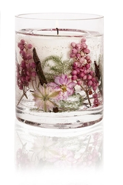 Stoneglow Candles Pink Pepper Flowers - Front cropped