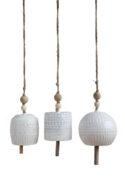 Creative Co-Op Stoneware Bells - Product Mini Image
