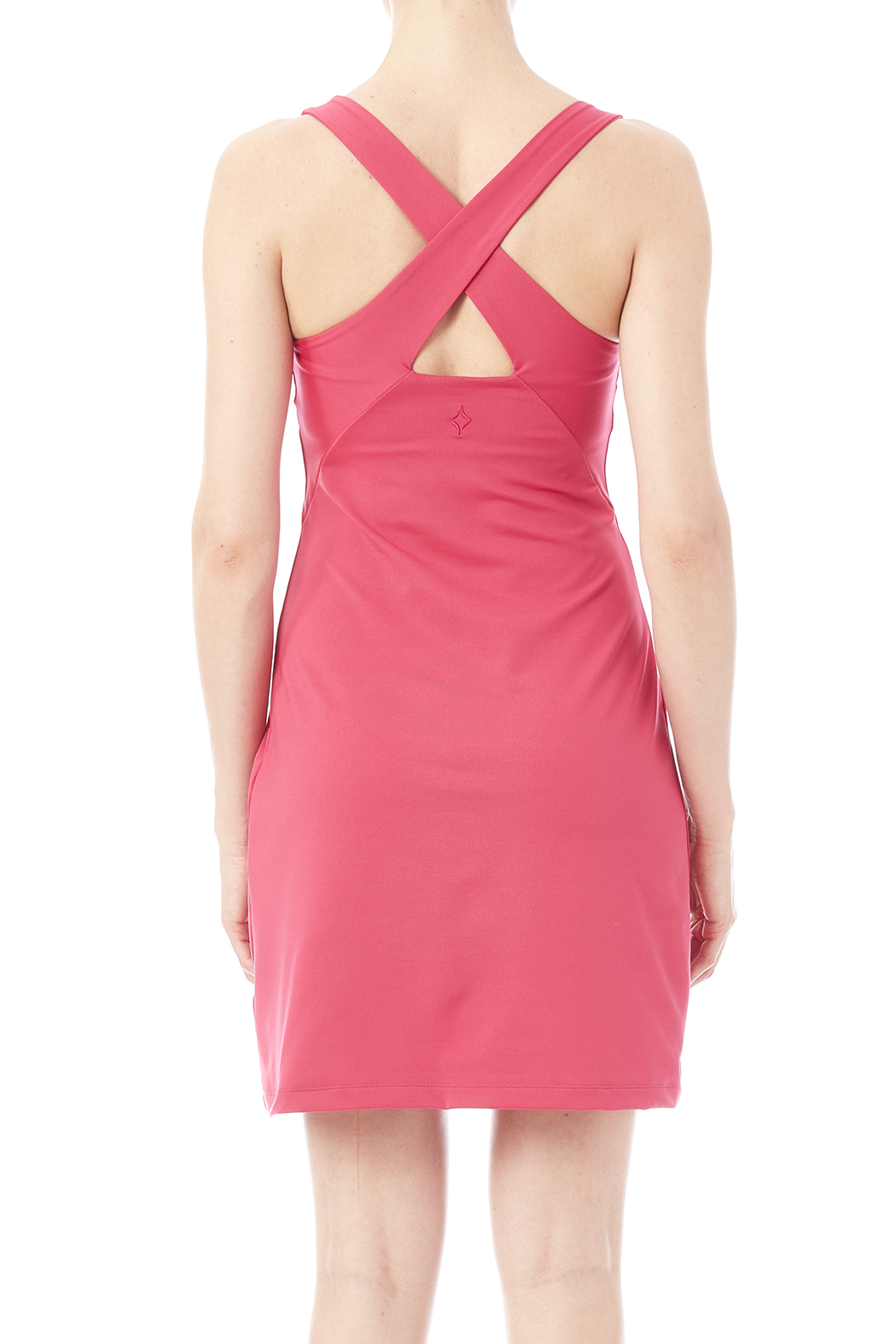 Stonewear Designs Crossback Dress - Back Cropped Image