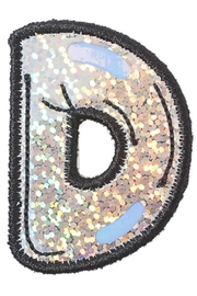 Stoney Clover Lane Balloon Letter Patch - Back cropped