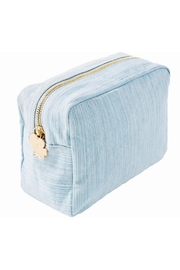 Stoney Clover Lane Denim Pouch - Product Mini Image