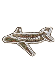 Stoney Clover Lane Puffy Airplane Patch - Product Mini Image
