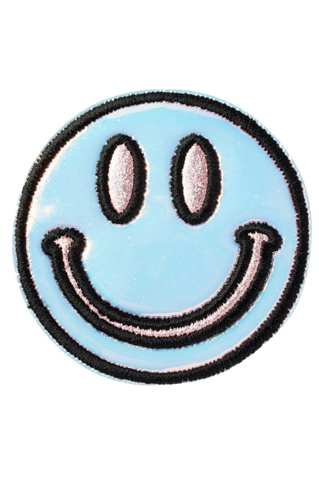 Stoney Clover Lane Puffy Smiley-Face Patch - Main Image