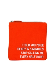 About Face Designs Stop-Calling Cosmetic Bag - Product Mini Image