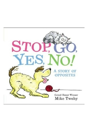 Harper Collins Publishers Stop, Go, Yes+no! - Product Mini Image