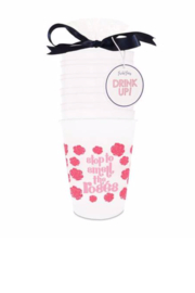 Packed Party STOP TO SMELL THE ROSÉS CUPSTACK - Product Mini Image