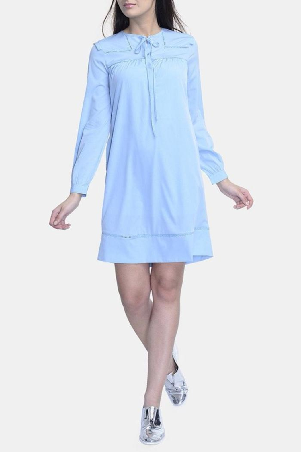 Stoppycat Pastel Shift Dress - Main Image