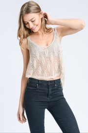 storia Beige Crop Top - Product Mini Image