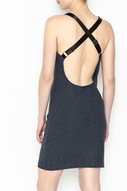 storia Black Strap Dress - Back cropped