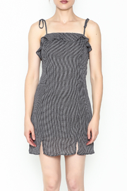 storia Gingham Strappy Dress - Front full body