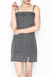 storia Gingham Strappy Dress - Product Mini Image