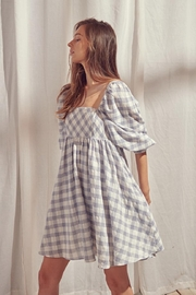 storia Checkered Dress - Product Mini Image