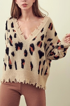 storia Cheetah Sweater - Product List Image