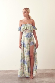 storia Cold-Shoulder Tropical Maxi - Product Mini Image