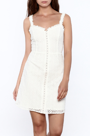storia Crochet Dress - Front cropped