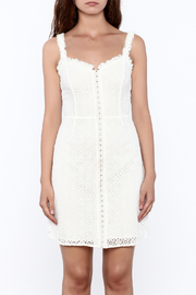 storia Crochet Dress - Front full body