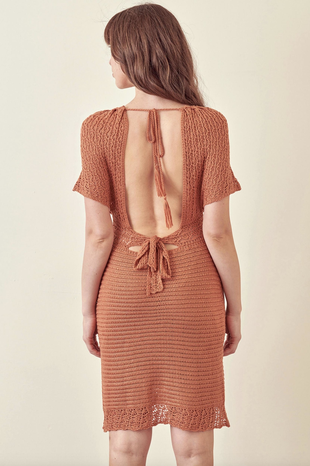 storia Crotched Fall Dress - Side Cropped Image