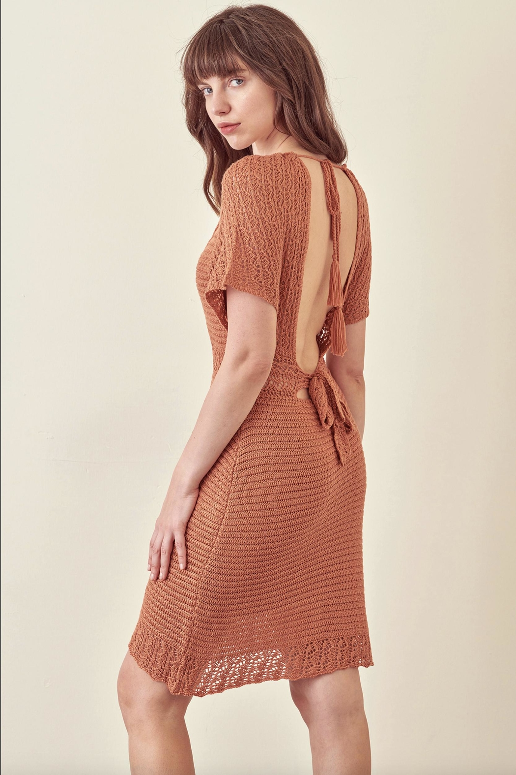 storia Crotched Fall Dress - Front Full Image