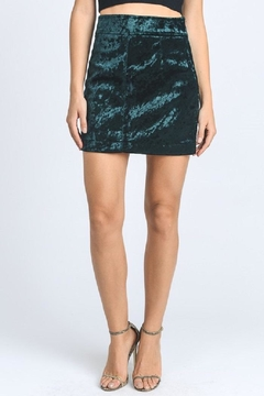 Shoptiques Product: Crushed Velvet Skirt
