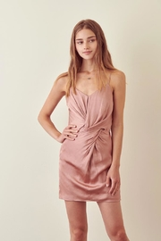 storia Dusty-Rose Twist Dress - Product Mini Image