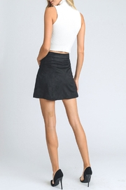 storia Embry Suede Skirt - Front full body